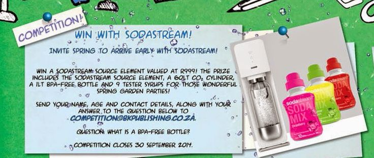 Win with SodaStream! Supernova vol. 3.6.