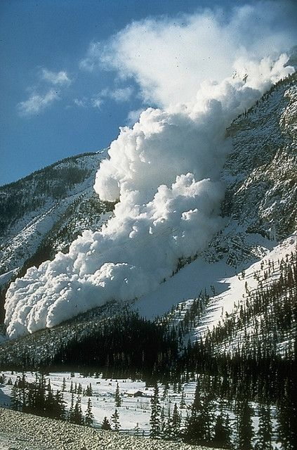 Avalanche - another expression of God's power...beautiful! https://store.clockwize.co.uk