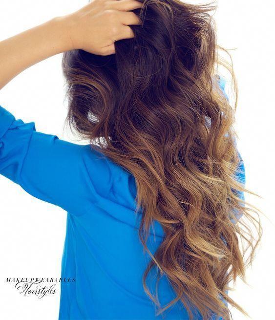 Comment teindre tes cheveux noirs à la maison en ombre caramel brun – juste étape par étape   – Hair Color Ideas from Crazy to Highlights