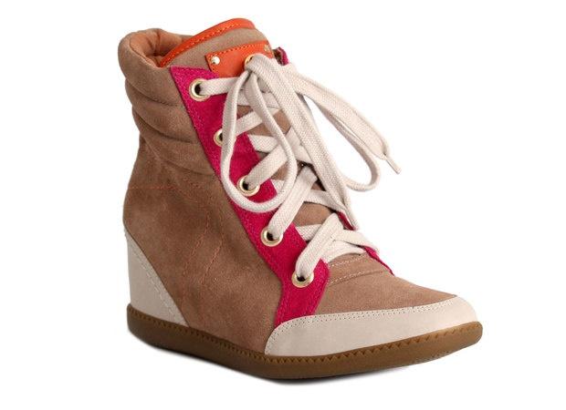 Carmen Steffens - sneakers com salto embutido