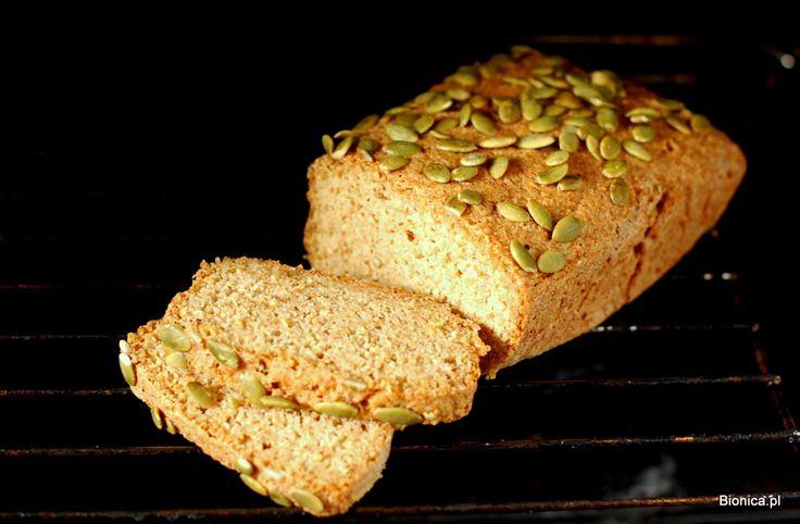 Uzależniający chleb bezglutenowy z quinoa i kaszy jaglanej
