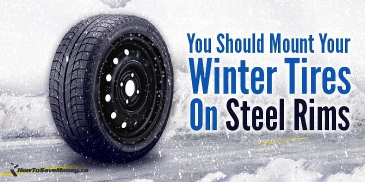 Snow Tire Packages Steel Wheels