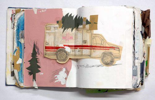 sketchbook page by Ted McGrath http://www.tedmcgrath.com/Sketchbook