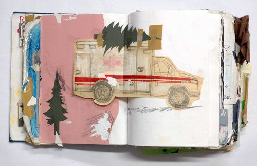 sketchbook page by Ted McGrath http://www.tedmcgrath.com/Sketchbook