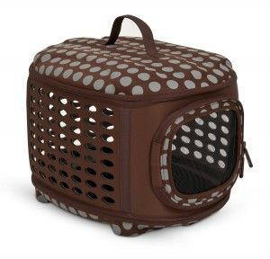 2.Petmate Curvations Soft Sided Pet Retreat Carrier