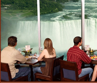 The Keg Steakhouse & Bar on the 9th floor of the Embassy Suites Hotel - Niagara Falls, Ontario