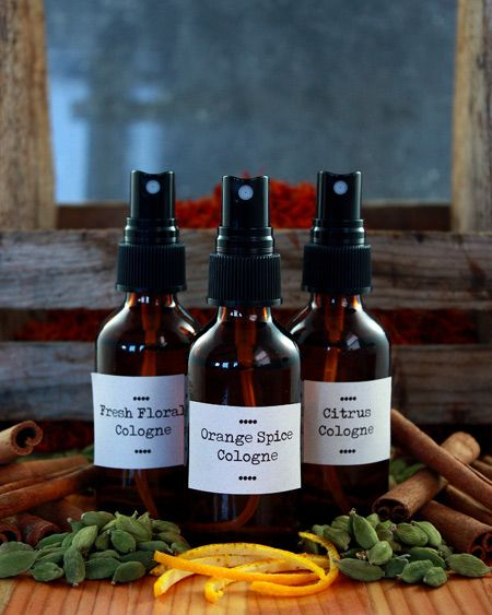 "Make your own botanical perfumes and colognes.  ""Did you know that most perfumes and colognes are manufactured using synthetic chemicals, even petroleum? Many of these ingredients do not need to be listed on the labels, but are known allergens, hormone disruptors, and irritants. The majority have never even been studied for cosmetic use!"""