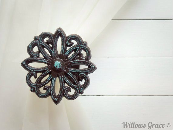 Hey, I found this really awesome Etsy listing at http://www.etsy.com/listing/154031297/two-metal-curtain-tie-backs-curtain