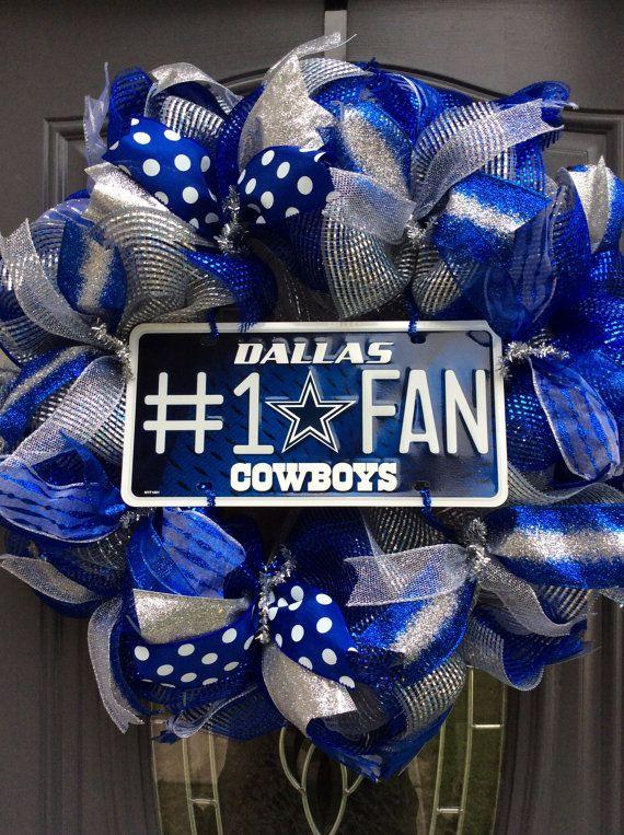 Dallas Cowboys Wreath-Dallas Cowboys-Dallas by WreathsbyKimby