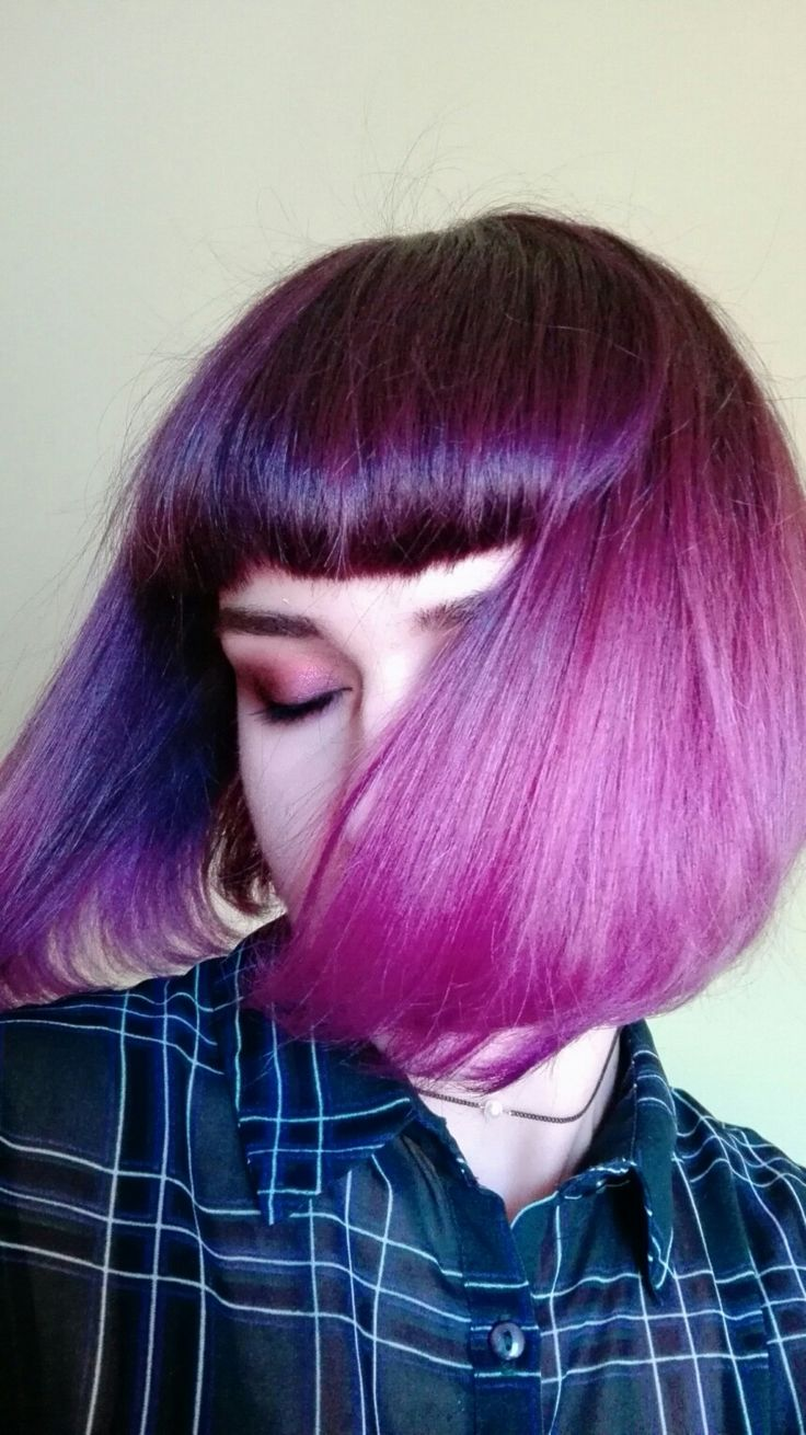 17 Best ideas about Dyed Bangs on Pinterest | Dyed hair ...