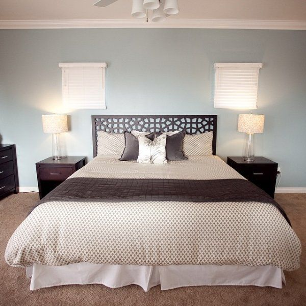 House Color Schemes, Calming Bedroom Colors And