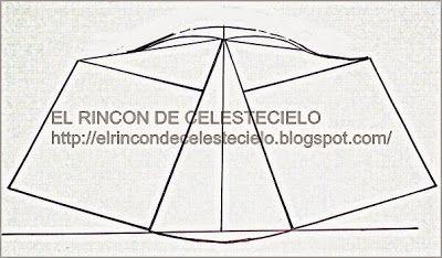 El Rincon De Celestecielo: Patrones para manga campana corta y larga