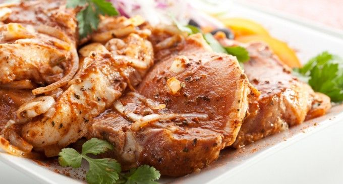 The Homemade BBQ Sauce & Other Ingredients Make This Slow Cooked Pork Loin Come Out Perfect!
