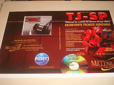 Assetj tem apostilas para concurso de Escrevente do TJ/SP: For Contest, Public Servant, Contest