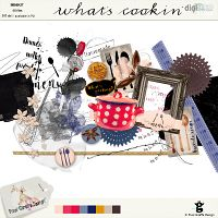 What's cookin' elements by Pixel Giraffe Designs: http://winkel.digiscrap.nl/What-s-cookin-elements/
