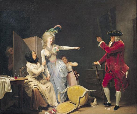 The jealous old man, 1791