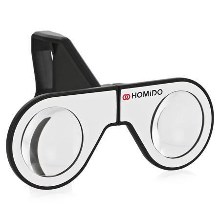 Очки виртуальной реальности Homido Mini  — 1490 руб. —  Очки виртуальной реальности Homido mini предназначен для использования со смартфонами под управлением iOS и Android. Складная конструкция устройства всегда поможет вам быстро погрузится в виртуальную реальность где бы вы не находились. В комплекте вы найдете чехол для переноски и защиты вашего устройства от повреждений. Специально разработанные линзы Homido - это фирменный знак всей продукции бренда. Яркие цвета и широкий угол обзора…