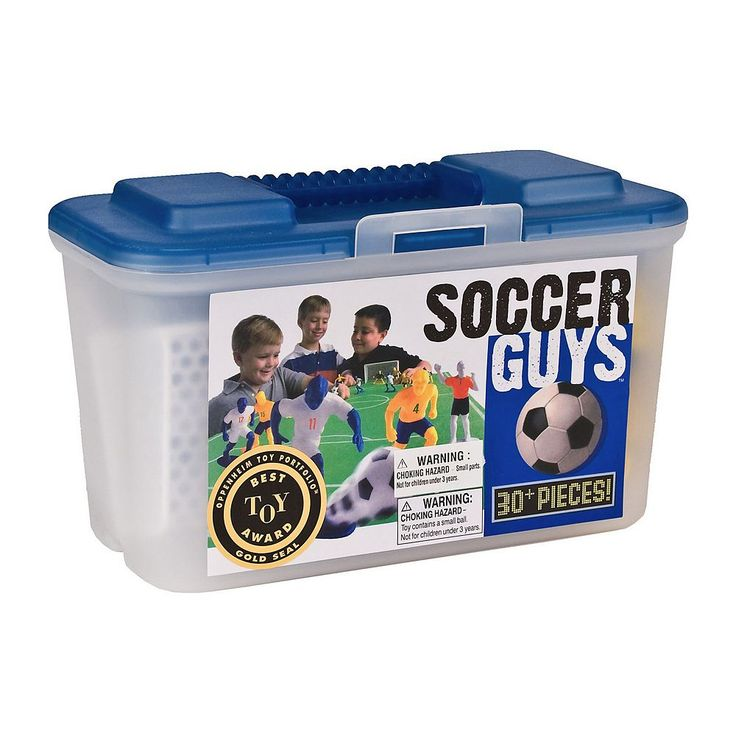 Kaskey Kids Soccer Guys Set, Multicolor