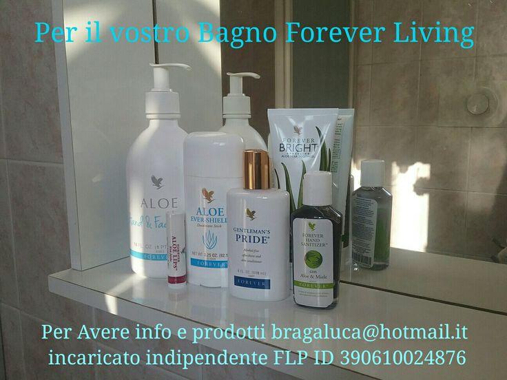 Prodotti per l'igene sia a casa che fuori.  Per avere info e prodotti bragaluca@hotmail.it  incaricato indipendente Forever Living Products Italy