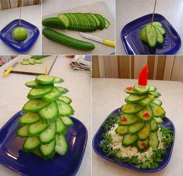 Co dobrego dziś?: Dekoracje z warzyw.