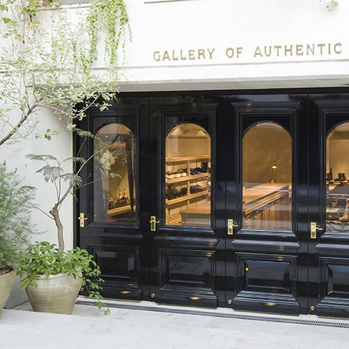 일본 Authentic Shoe & Co 사의 매장 'Gallery of authentic'