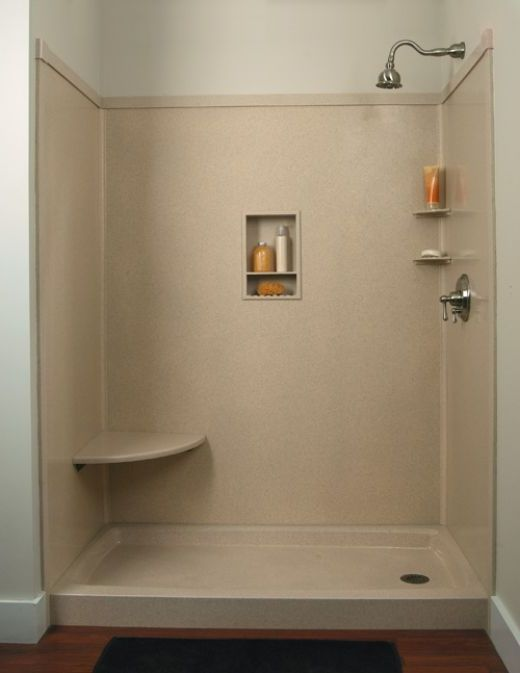 Remarkable Shower Stall Kits Lowes