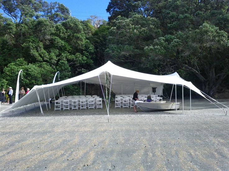 Waiheke Island supplied marquee, for the great outdoors