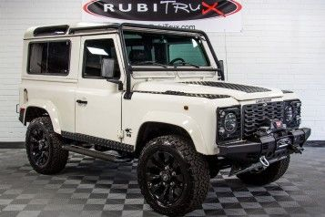 Pre-Owned 1997 Land Rover Defender 90 White