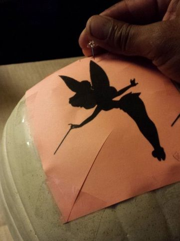 Amazing interior design diy tinkerbell dust pumpkin for for How to carve tinkerbell in a pumpkin