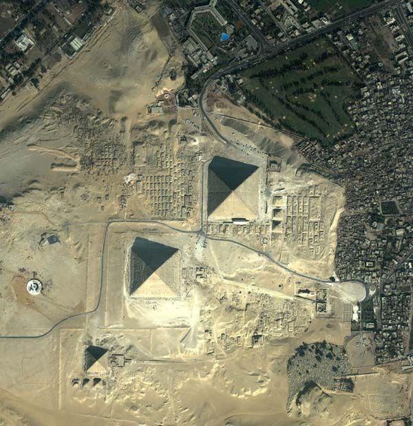 23.) Giza Pyramids (Egypt)