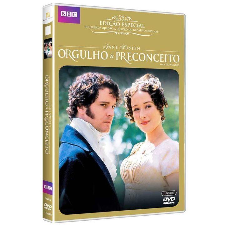 DVD - Orgulho e Preconceito (Legendado) - Edição Especial Duplo
