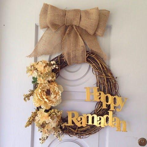 Art Of Felicity: DIY Ramadan Wreath