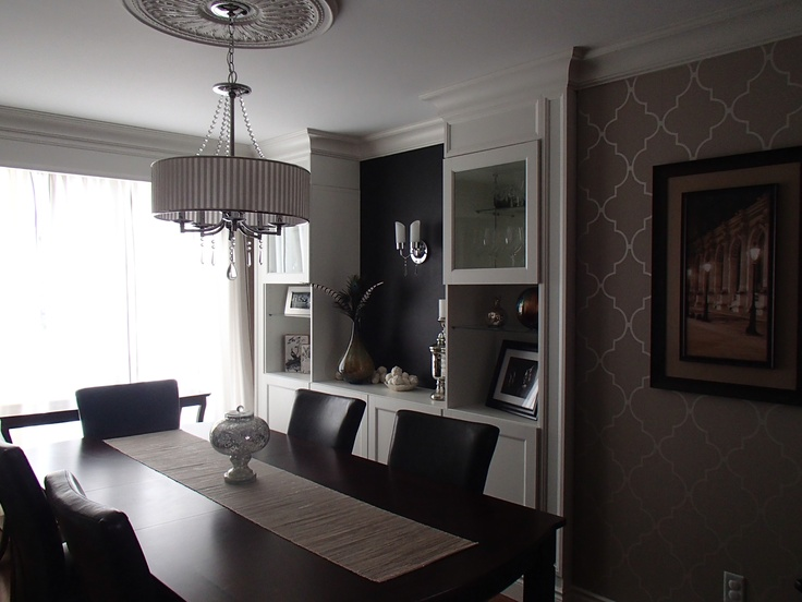 Used as a tv room before  to formal dining