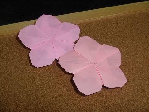 Hinamatsuri (Doll Festival) - Peach Blossom Origami