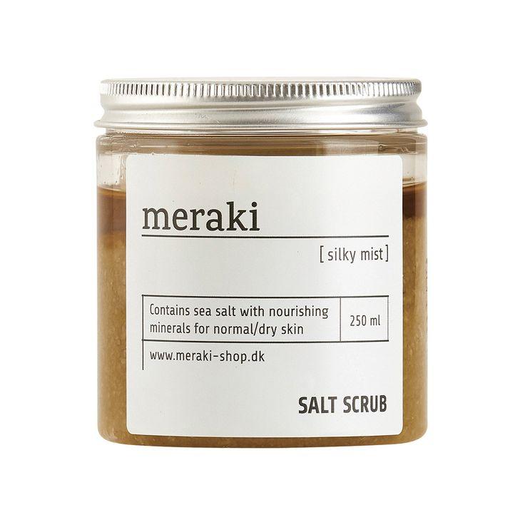 MERAKI SALT SCRUB - SILKY MIST – THE HOUSE JAR
