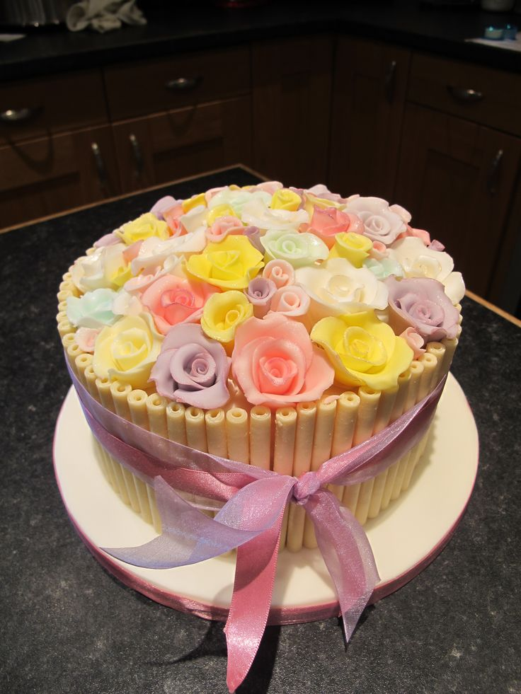 23 best Ladies birthday cakes images on Pinterest Ladies
