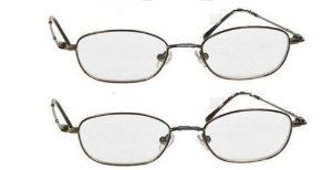 2 Pairs Magnivision Titanium Wire Rim Reading Glasses 1.50, Flat Stainless Steel Stems by Magnivision. $18.99. Titanium frames stainless steel stems. 1.50 strength. 2 pairs Titanium metal reading glasses offer a look of versatility and distinction. Titanium eyeglass frames that you are sure to love wearing.. Magnivision - a name known for quality optics at great prices. The great quality and value that has made Magnivision one of the leaders in Glasses. Magnivision quality ...