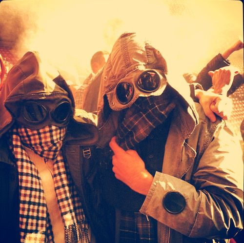 How we dress in the terraces, CP Company, Stone Island, Burberry!