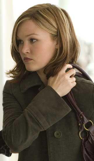 Julia Stiles- fav actress and like the haircut