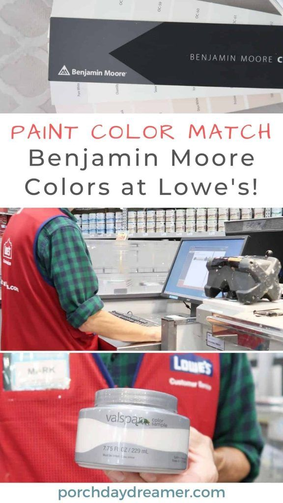 Can Lowes Color Match Paint : lowes, color, match, paint, How-to, Match, Another, Paint, Brand, Lowe's, Lowes, Paint,, Brands,, Benjamin, Moore, Colors