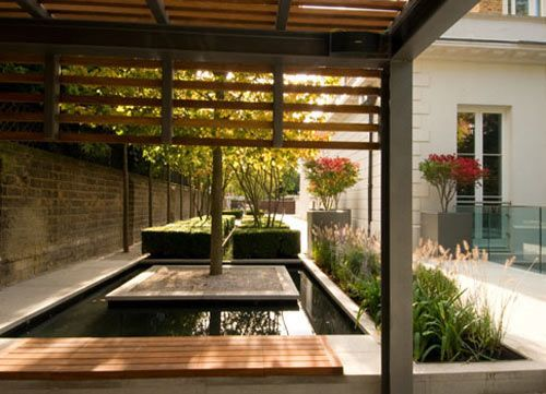 one of the UK's leading garden designers, Philip Nixon