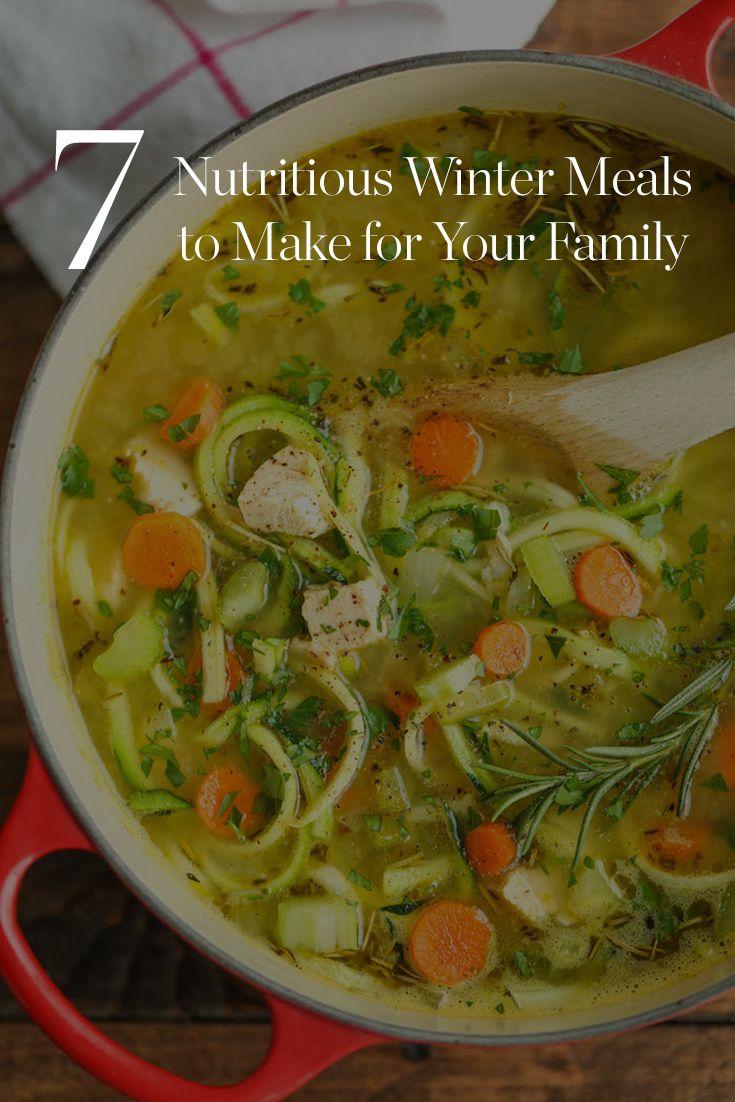 7 Nutritious Winter Meals to Make for Your Family via @PureWow via @PureWow