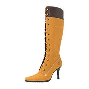"Timberland Stiletto Boots | Underground Station: Womens Timberland 14"" Stiletto Heel Boot - Wheat"