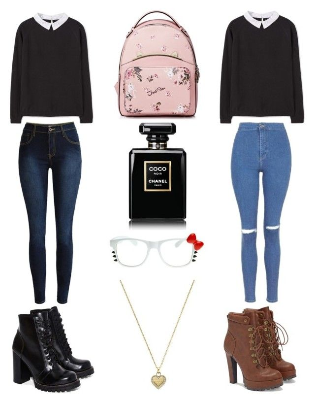 """""""Cute Nerd/Geek Outfit"""" by aurejuanbaston ❤ liked on Polyvore featuring MANGO, Michael Kors, JustFab, Jeffrey Campbell and ZeroUV"""