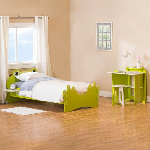 Kids Will Jump For This Clever Frog Bed Design Which Includes A Twin Size  Frog Bed, Dresser, Bookshelf, Storage Box And Kids Desk To Provide For All  Your ...