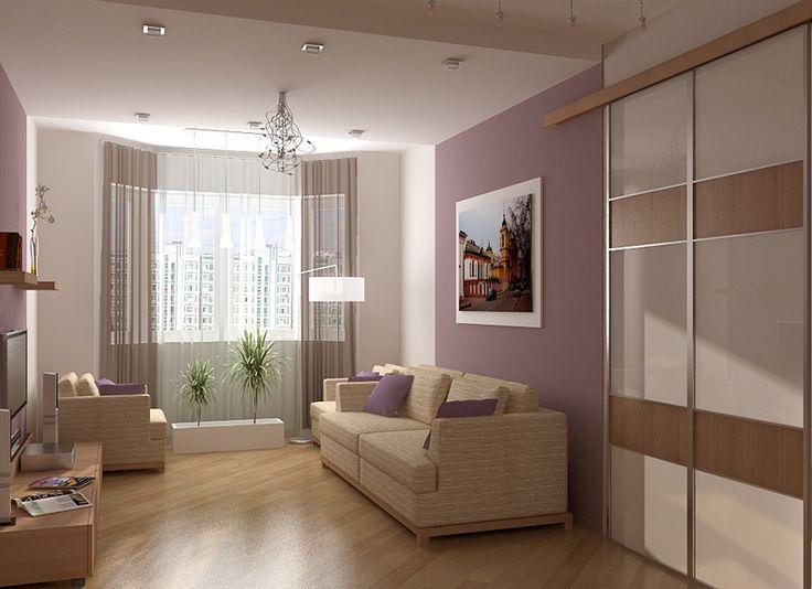 Дизайн гостиной в хрущевке - 18 кв м, дизайн маленькой комнаты, 155 фото