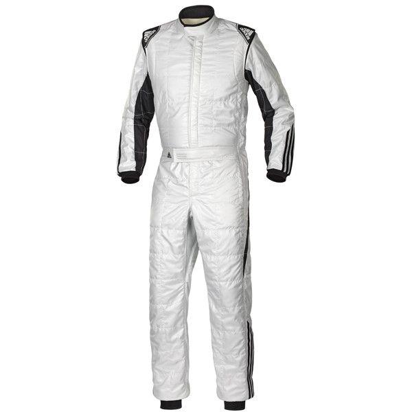 climacool nomex race suit – silver/black