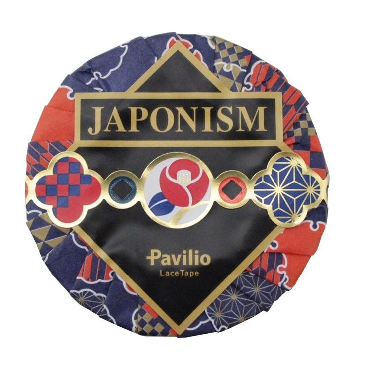 Amazon.com : Pavilio Japanese Lace Paper Masking Tape, Japonism Butterfly (JAP-01-CA) : Office Products