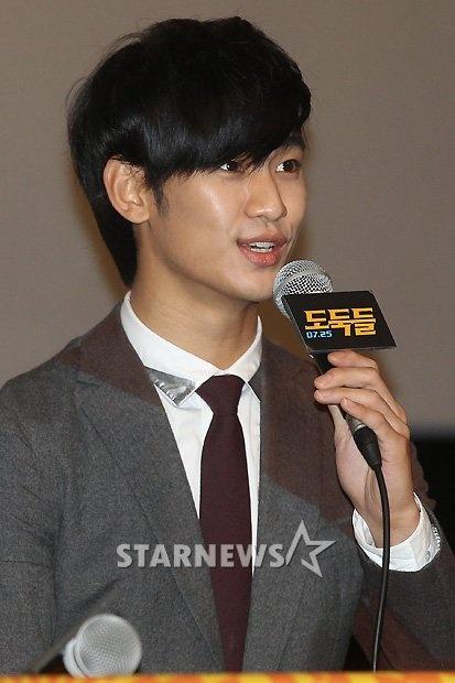 [July 10th 2012] Kim Soo Hyun (김수현) at The Thieves (도둑들) Press Screening #7 #KimSooHyun #SooHyun #TheThieves #Dodookdeul