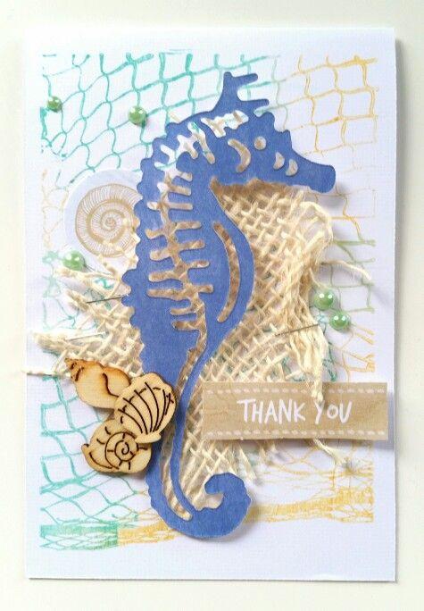 Kaisercraft : Coastal Escape collection : card by Amanda Baldwin